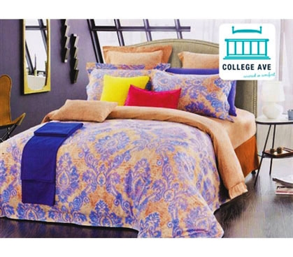 Barbados Sunrise Twin Extra Long Comforter For College Girls Dorm Bedding