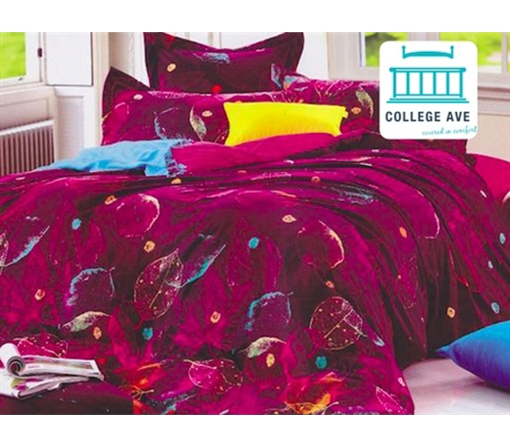 Dorm Bedding For Girls Torrid Leaves Twin Xl Designer