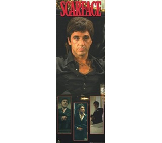 Scarface Collage Dorm Wall Movie Poster Fun Dorm Decorations