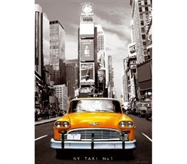 New York Yellow Taxi Poster