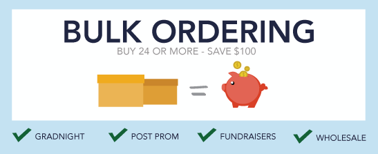 Bulk Ordering Buy 24 or More - Save $100