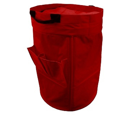 large college laundry duffel bag - red wash college clothes hamper