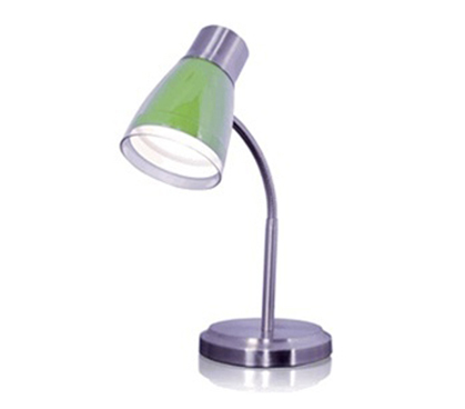 Gooseneck Desk Lamp - Lime Green - Gooseneck Desk Lamp Lime Green - Dorm Lighting College Lamps Cool