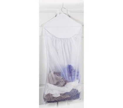hanging laundry hamper - space saving dorm product cool college