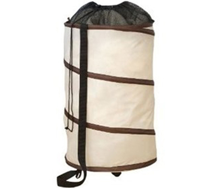 rolling polyester pop-up hamper - college dorm laundry hamper dorm