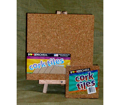 cork tile 4pack 12 x 12 - Cork Board Tiles