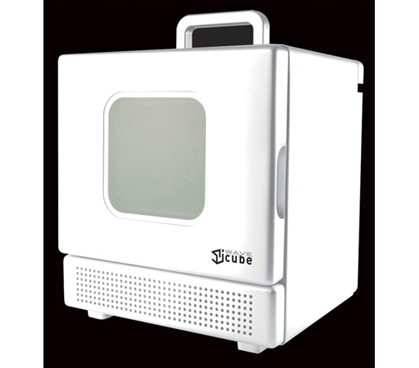 Needed For College 600 Watt Personal Desktop Microwave White Compact Dorms