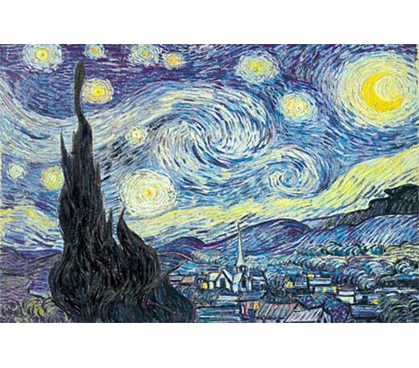 Starry Night Nuit Etoilee Vincent Van Gogh S Famous
