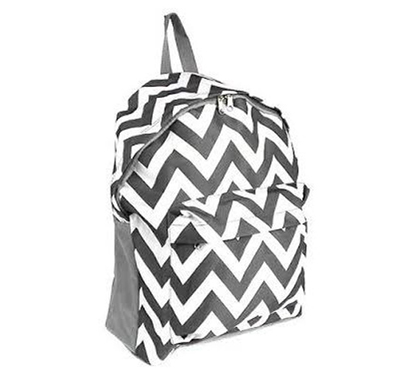 College Backpack Gray Chevron College Supplies Must Have