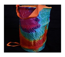Must Have Item For Laundry - Pop Up Dorm Caddy - Tie-Dye - Cool And Colorful
