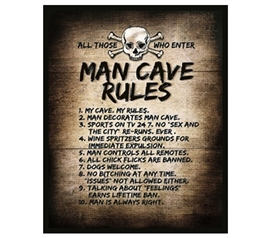 The Man Cave Rules