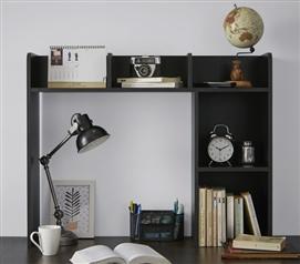 Clic Dorm Desk Bookshelf Black Essentials Necessities