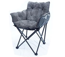 Elegant College Cushion Chair   Ultra Plush Dark Gray Dorm Chair Soft Dorm Seating Part 7