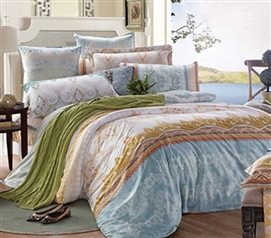 Tropica Twin XL Comforter Set - College Ave Designer Series - Stylish Dorm Bedding