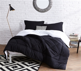 blackwhite reversible twin xl comforter