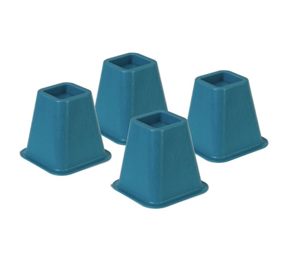colored bed risers blue products for dorms cool college supplies essentials height stuff dorms. Black Bedroom Furniture Sets. Home Design Ideas