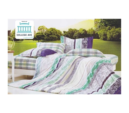 Twin Xl Comforter Set College Ave Dorm Bedding Xl Twin Bedding For College Dorms Extra Long