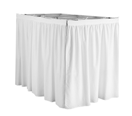 Extended Size Stylish College Bed Skirts For Raised Or Lofted Extra