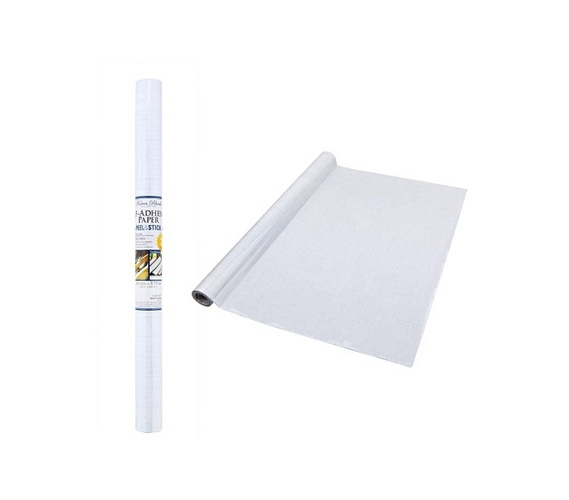 Self Adhesive Shelf Liner - Clear - Great For Furniture ...