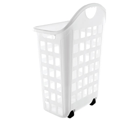Laundry Hamper With Wheels   White Part 31