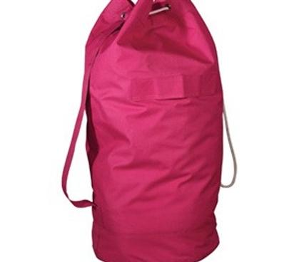 Over The Shoulder Pink Laundry Bag Dorm Room Essentials College Organizer