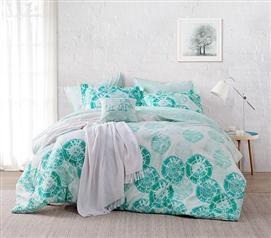 calico mint twin xl comforter - Twin Xl Comforters