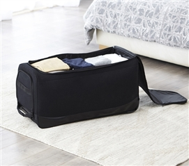 One Of A Kind Dorm Room Duffle Laundry Bag With Wheels Gomie Essential College Supplies