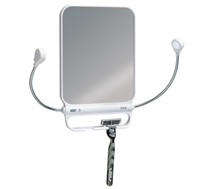 iform suction mirror with lights bathroom must 14597