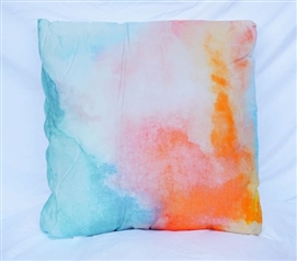 Watercolor   Light Pink   Cotton Throw Pillow
