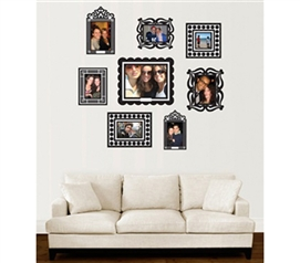 Dorm Room Wall Decor peel n stick dorm room decor - dorm room decorating ideas