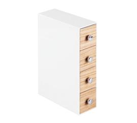 Slim Drawer Jewelry Organizer   Light Wood