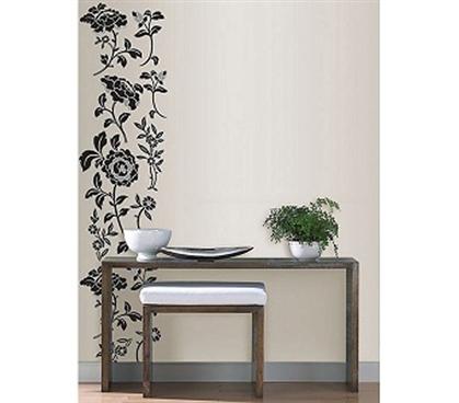 brocade vine style peel n stick decor decor college. Black Bedroom Furniture Sets. Home Design Ideas