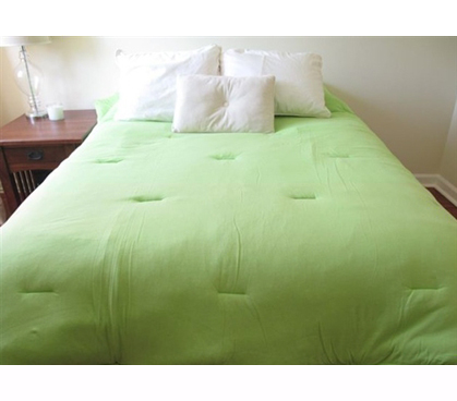 Jersey Knit Twin Xl College Comforter 100 Cotton