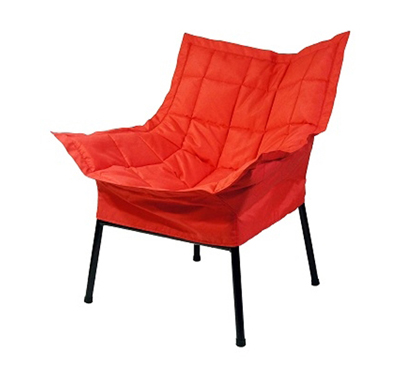 Dorm room padded comfort chair red college items relax comfortable seating furniture for dorm - Cheap relaxing chairs ...