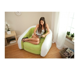 Retro Comfort College Chair   Inflatable College Furniture (Available In 3  Colors)