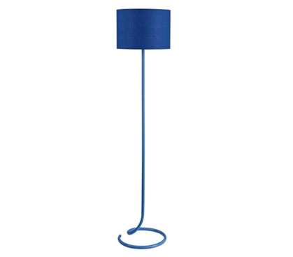 Snail S Tail Floor Lamp Spiral Blue College Items Cool