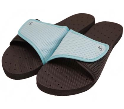 Showaflops Women S Antimicrobial Shower Sandal Black