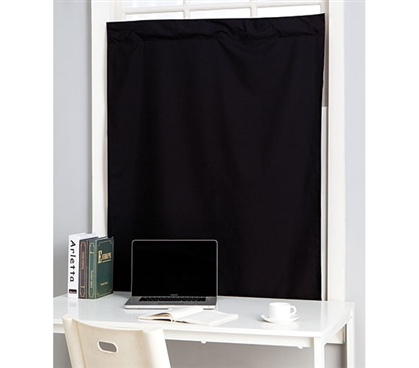 The Suction Cup Blackout Curtain For Windows