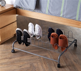 Suprima Underbed Shoe Holder With Wheels