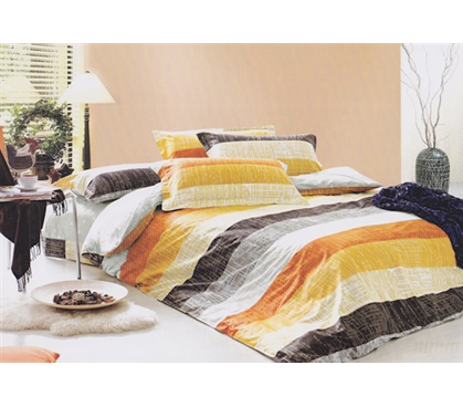 Canyon Stripes Twin XL Comforter Set Dorm Room Stuff