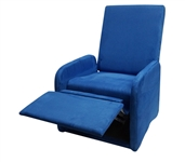 The College Recliner - Real Blue Dorm Furniture