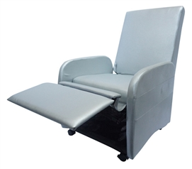 The College Recliner (Folds Compact) - Silver  sc 1 st  Dorm Co & The College Recliner - Black islam-shia.org
