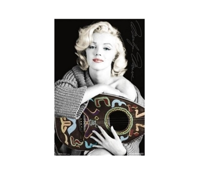 Marilyn Monroe Music Poster Shop For College Dorm Room