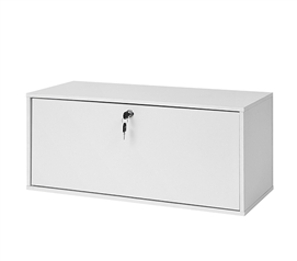 Yak About It Locking Safe Trunk   White
