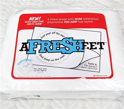 A Fresh Sheet A Fitted Sheet With 7 Peel Away Top