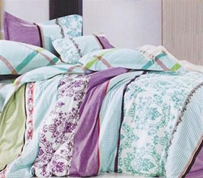 Sunset Aqua Txl Designer Dorm Bedding For Girls