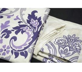 twin xl sheet set demure college ave designer series