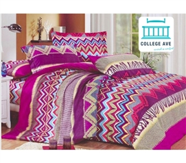 arid reign twin xl comforter set college ave designer series