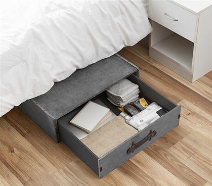 Ultimate Underbed Drawer Trunk Dorm Room Organizer