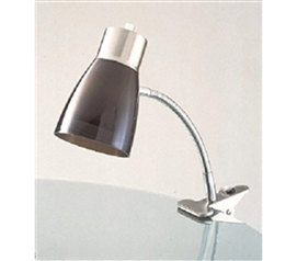 Great Lamp For Studying - Aglow Dorm Clip Lamp - Black - Needed For Dorm Life